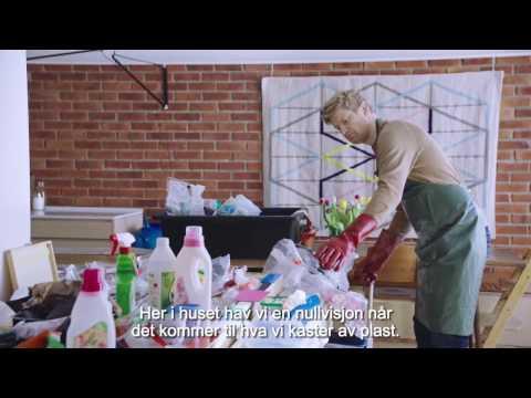 Youtube preview av filmen Her i huset har vi nullvisjon når det kommer til hva vi kaster av plast