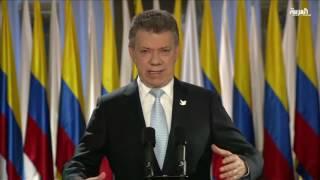 جائزة نوبل للسلام لرئيس كولومبيا