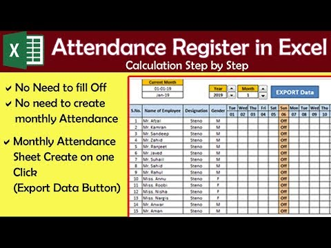 ms-excel-smart-attendance-register-in-hindi-step-by-step