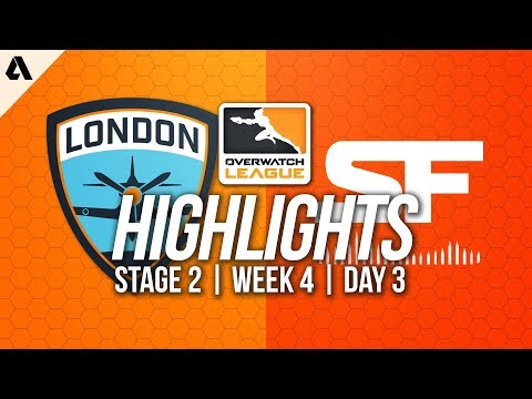 London Spitfire vs San Francisco Shock | Overwatch League Highlights OWL Stage 2 Week 4 Day 3