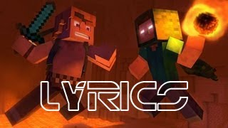 Take Back The Night - Lyric Video - A Original Minecraft Song by Captainsparklez & TryHardNinja