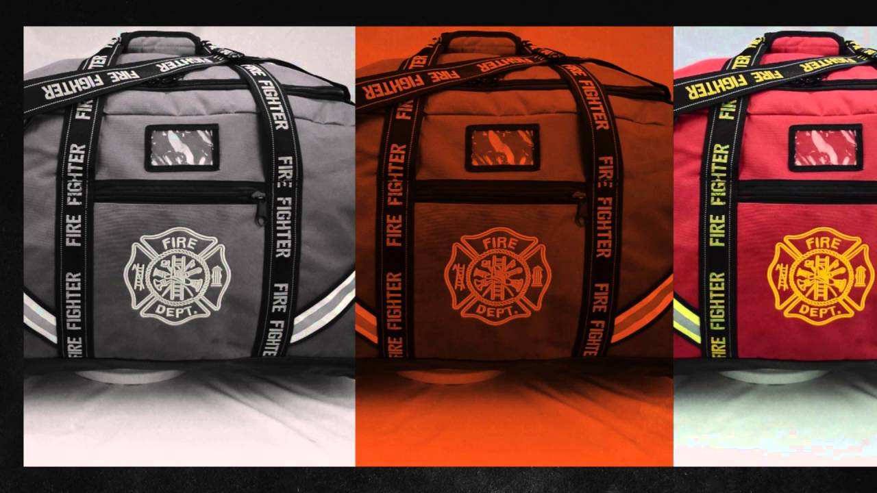 Recycled bunker gear bags - Lxfb10 Xxxl Premium Firefighter Turnout Gear Bag By Lightning X