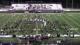 "College Station HS Band - ""The Journey Within"" 09/05/2014"