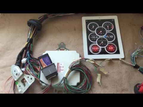 hqdefault 2002 subaru impreza vw wiring harness conversion youtube wiring harness conversions at crackthecode.co