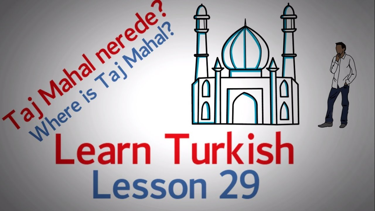 Learn Turkish Lesson 29 - Direction Phrases (Part 1)