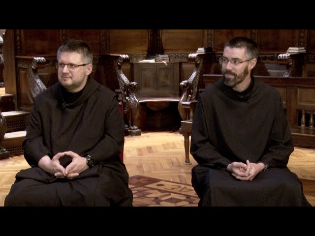 Entrevista als GG. Xavier Caballé i Jordi Puigdevall, monjos de Montserrat