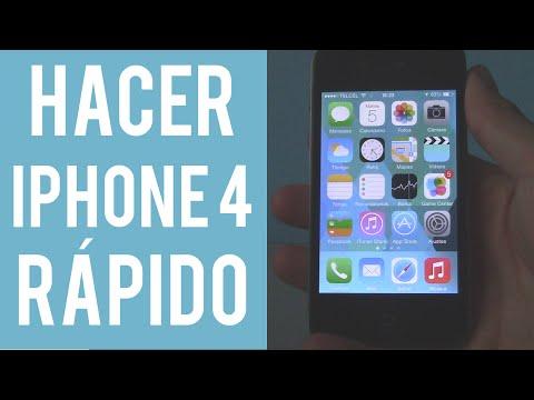 Cómo hacer más RÁPIDO mi iPhone 4 - CleTutoz