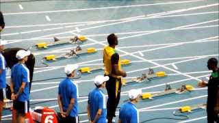 Usain Bolt in Moscow / 100m . Юсейн Болт в Москве /100 м.