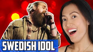 Chris Kläfford  - Idol Sweden Compilation Reaction | Before His Debut On America's Got Talent (AGT)