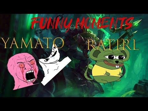 Funny moments RATIRL & YAMATO1 RAGING&LAUGHING RAT MALDING #11