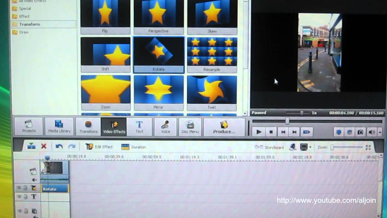 How to rotate your video using avs video editor youtube how to rotate your video using avs video editor ccuart Choice Image