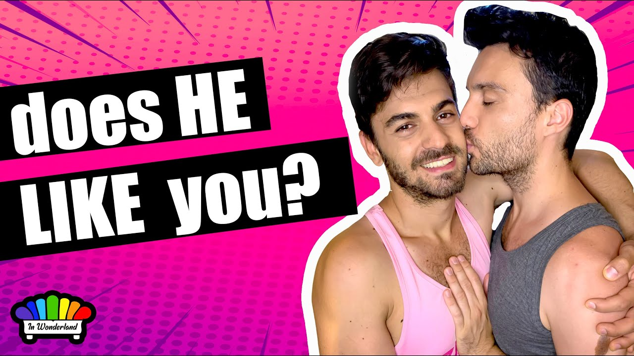 10 signs he likes you gay couple advice TESTED   YouTube