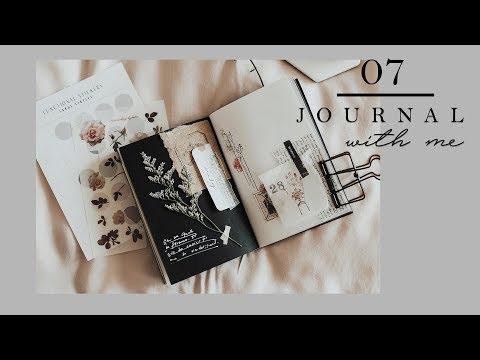 Journal With Me #7 | A6 Traveler's Notebook | Black Paper Edition