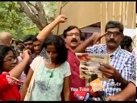 National anthem row: protest against arrest at IFFK venue