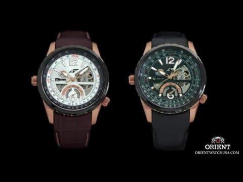 Orient Rally Automatic Mechanical Men's Luxury Sport Watch