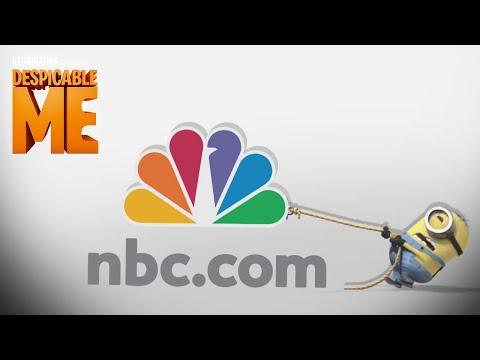 Despicable Me - Minion pulling NBC logo - Illumination