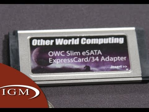 OWC Slim eSATA ExpressCard Adapter for MacBook Pro (Review)