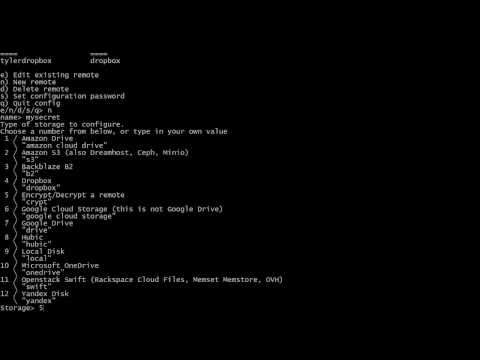 rclone: How to Encrypt Files and Names with a Crypt Remote