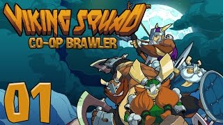 Viking Squad | Co-op Brawler (Episode 1) [Viking Squad Co-op Gameplay]