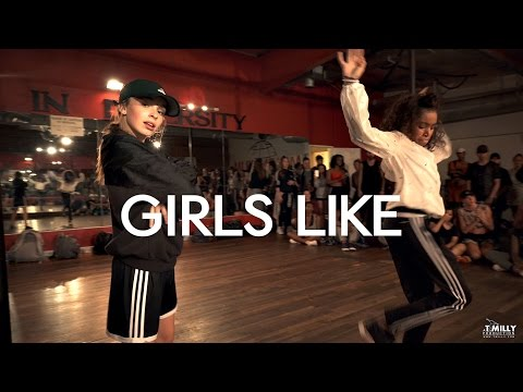 Thumbnail: Tinie Tempah - Girls Like ft Zara Larsson - Choreography by Eden Shabtai - Filmed by @TimMilgram