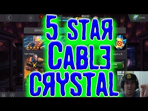 LIVE : 5 Star Cable Crystal Epic Overload!!!! - Marvel Contest of Champions
