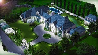 COUNTRY MANSION The Sims 4 | Speed Build 🏡