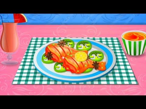 Game Masak Android Terbaik - Mainan Anak Perempuan Memasak Ayam Panggang Terenak - Fun Kids Cooking