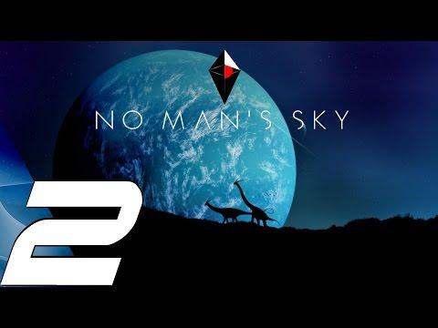 No Man's Sky - Gameplay Walkthrough Part 2 - Hyperdrive & Aliens