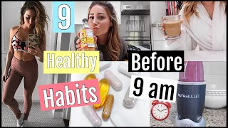 9 Healthy Habits I do BEFORE 9 am// FALL EDITION!