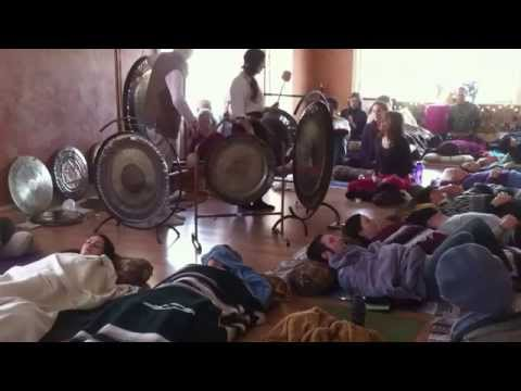 2015 New year Sound Healing ~Gong Puja at Sage Academy Of Sound Energy