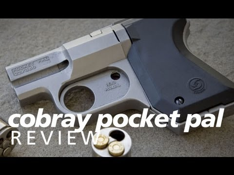 Review: the Cobray Pocket Pal - a revolver in 22lr and 380acp