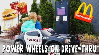 Power Wheels McDonalds Drive Thru / RonaldOMG / GamerGirl