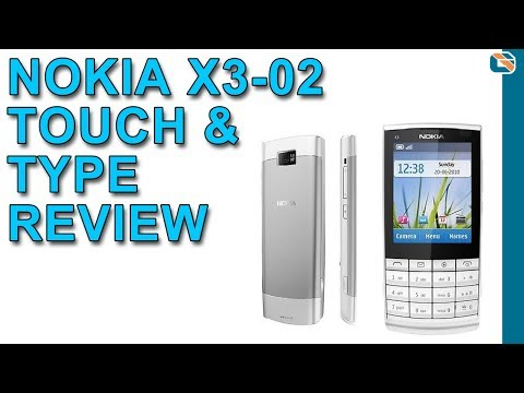Nokia X3-02 Touch & Type Mobile Phone Review