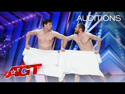 Early Release: Les Beaux Frères SHOCKS The Judges - America's Got Talent 2021