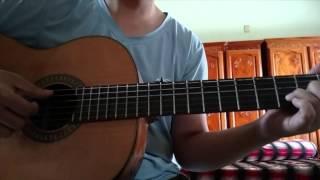 Hoa Mười Giờ guitar cover