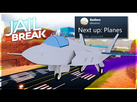 🔴JAILBREAK ROBLOX NEW PLANE! JAILBREAK ROBLOX NEW EMOTE UPDATE! (JAILBREAK ROBLOX LIVE)