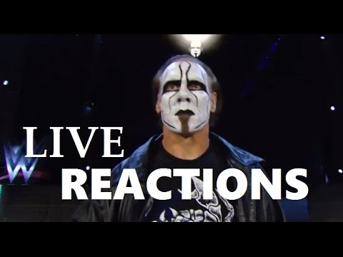 Live Reaction Compilation of Sting's WWE...