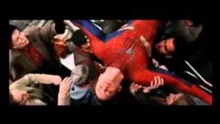"Spiderman 2 Train Scene Ending ""Heroes"" Mash-up"