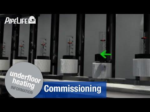 Pipelife Underfloor Heating - Commissioning