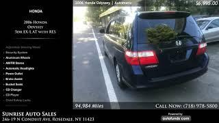 Used 2006 Honda Odyssey | Sunrise Auto Sales, Rosedale, NY