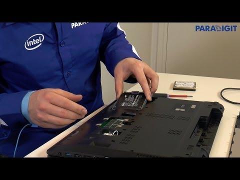 Een SSD inbouwen in uw laptop. Paradigit laat het zien.