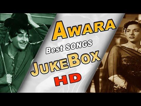 Awara | Raj Kapoor | Great Classic Film Songs | All Songs Jukebox | HD
