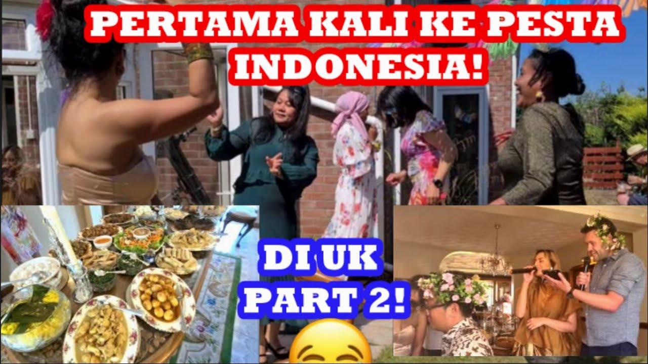 PERTAMA KALI SAYA DI PESTA INDONESIA PART 2. Suka makana, menari, dan BERNYANYI!! 🇮🇩🇬🇧