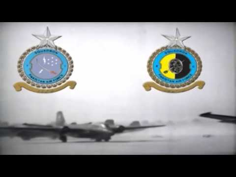 B-57 Bomber Air Raids Over India - Pakistan-India War