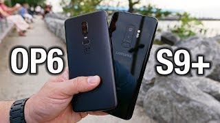 OnePlus 6 vs Samsung Galaxy S9+: Flagship killed? | Pocketnow
