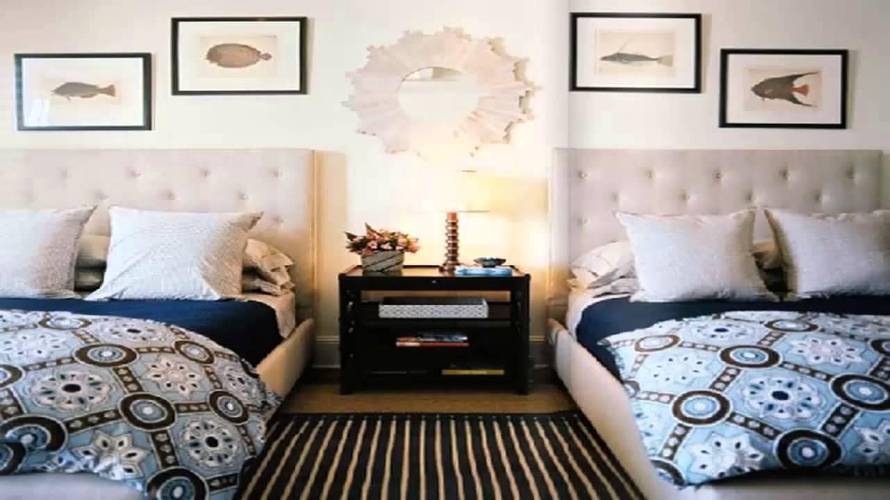 اشكال غرف نوم بسريرين Forms bedrooms with two beds       YouTube