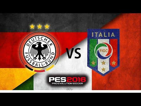 Detective Dave Live stream : EURO 2016 PES GERMANY VS ITALIA