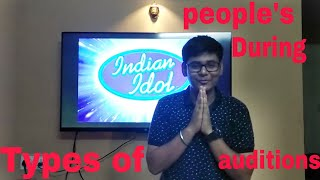 Types of people During auditions || Indian idol sfoop || Indian idol Auditions || AT Vnyz