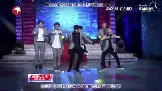 [Vietsub+Kara][donghosaigiay] 140503 EXO-M - Overdose - Entertainment Star World (1080p)