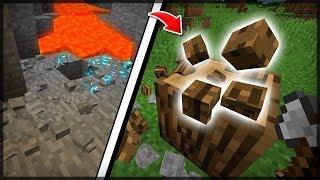 BLOCOS QUE QUEBRAM EM PEDAÇOS! - Block Particles - Minecraft Mods